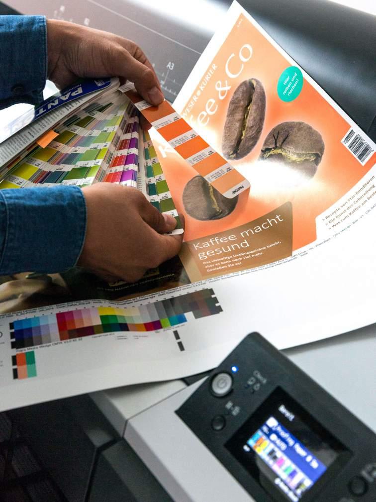 Proof Epson Pantone Fächer Grafik Moodbild wk|manufaktur