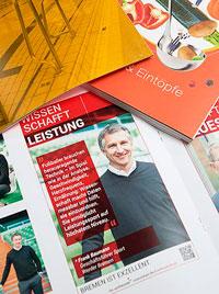 Universitaet-Bremen Anzeigenkampoagne wl|manufaktur Redaktion