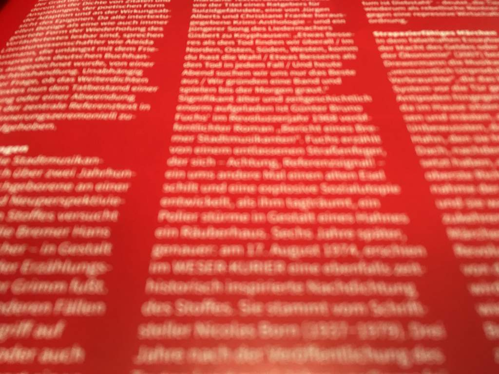 Moodbild Text Redaktion Rot wk|manufaktur